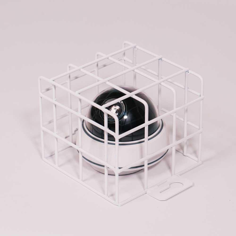 Gehäuse der Überwachungskamera, Netz Gitter in der gewünschten Größe auf Bestellung Ballwurfschutkorb Ballwurfkorb Ballgitter