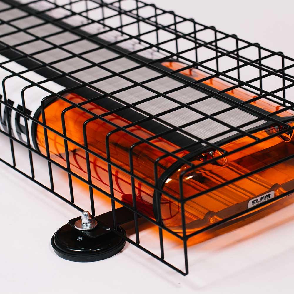 Schutzgitter für Warnlichtbalken